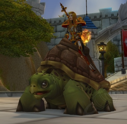 Riding Turtle - ChromieCraft