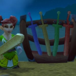 Foam Sword Rack - ChromieCraft
