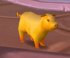 Golden Pig Coin - ChromieCraft