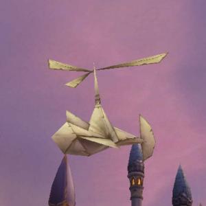Paper Flying Machine Kit - ChromieCraft