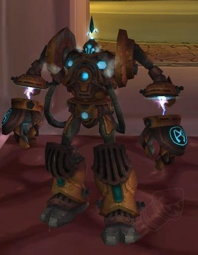 XS-001 Constructor Bot - ChromieCraft