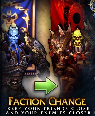 Change Faction ChromieCraft