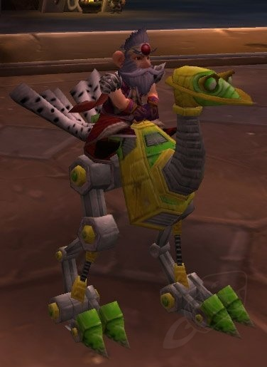 Fluorescent Green Mechanostrider - ChromieCraft