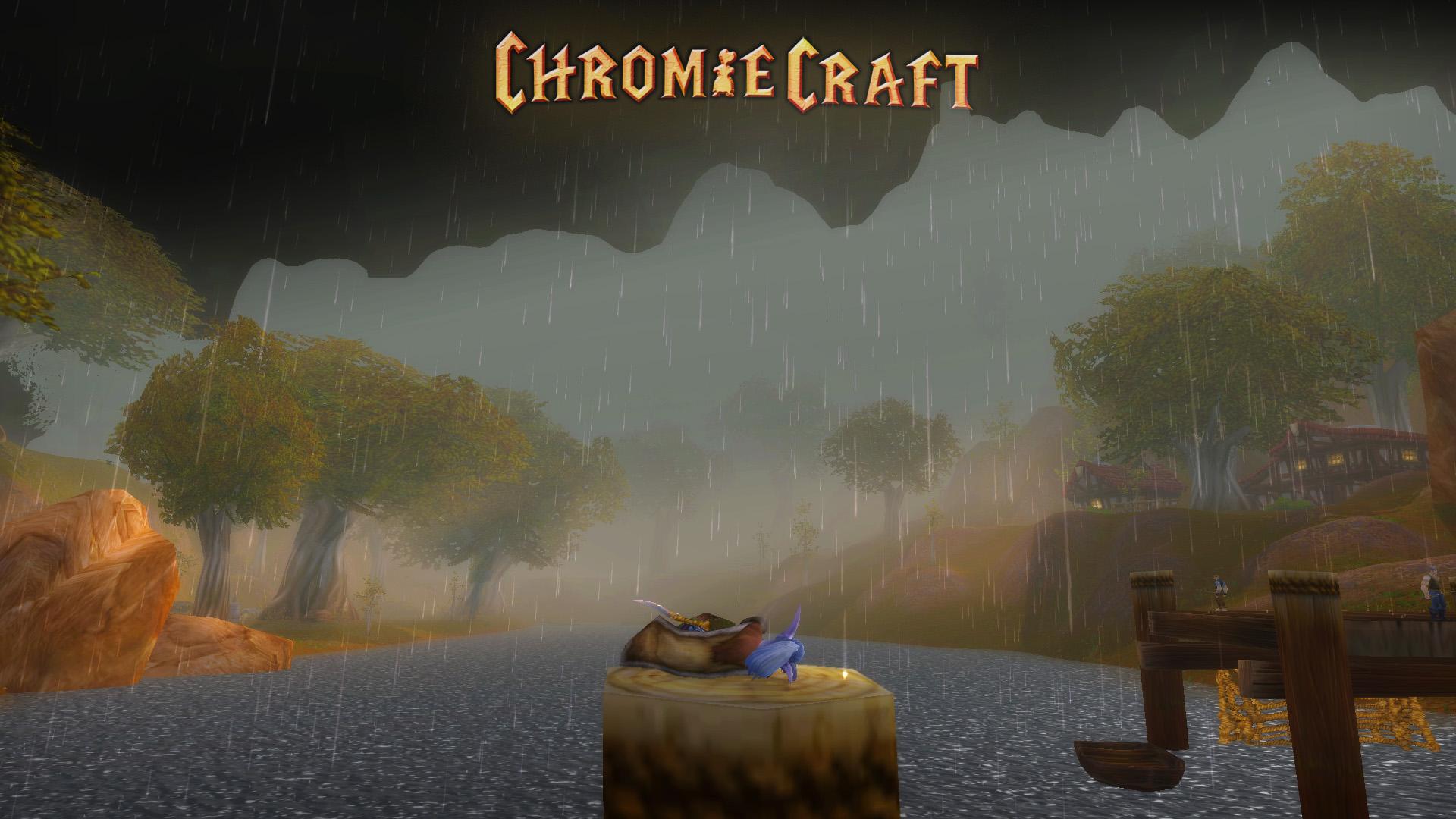 Redrige Mountains - ChromieCraft artwork by Joy